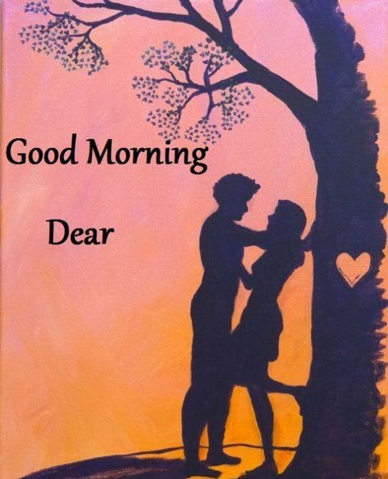Romantic Good Morning Dear Photos Pics