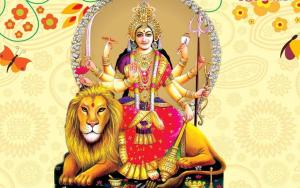 Durga Maa 3d profile pictures