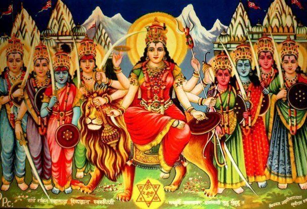 Durga Maa Whatsapp Images Dp