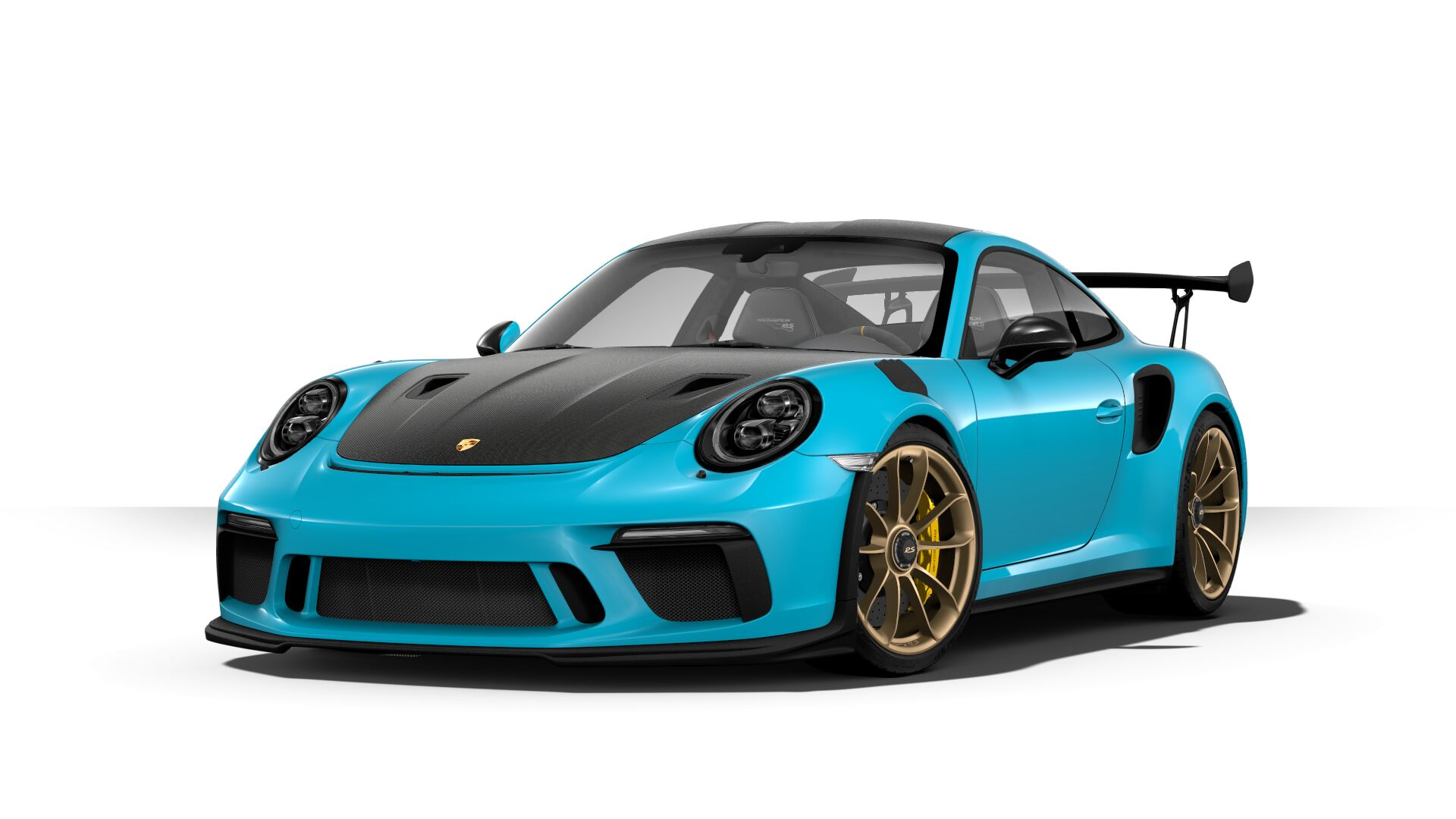 Configuring A 991.2 911 GT3 RS Including Detail , STATUS DETAIL