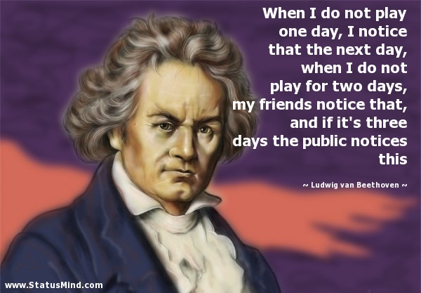 Ludwig Van Beethoven Quotes At StatusMind.com