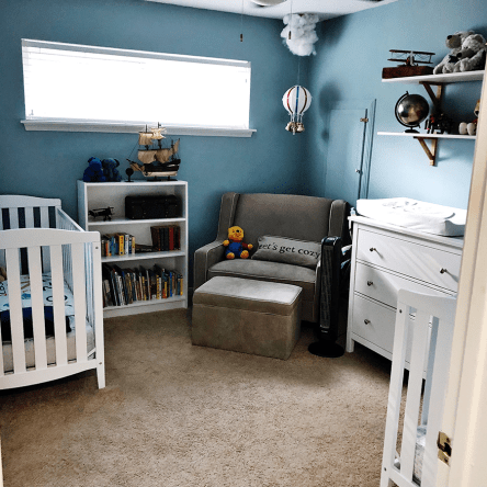 Travis & Richelle's Organized Baby Room