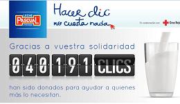 Leche Pascual lanza una campaña social media solidaria