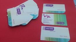 Diseño en Almería de tarjetas de visita