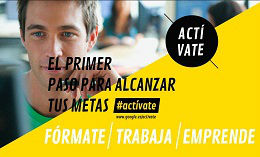 Actívate con Google