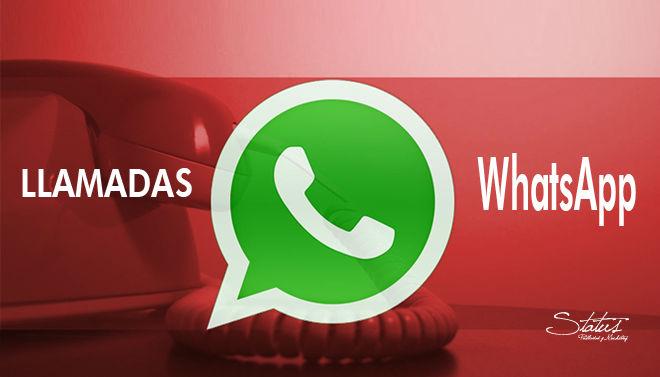 Llamadas en whatsaap