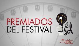 Premios festival el sol 2015