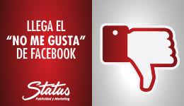 Botón Dislike Facebook