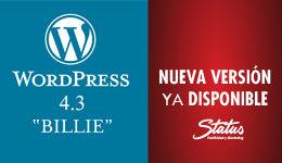 Novedades WordPress 4.3