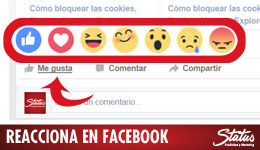 Reactions Facebook