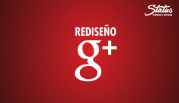Rediseño google plus