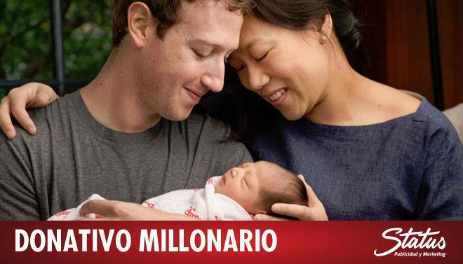 Donativo Mark Zuckerberg