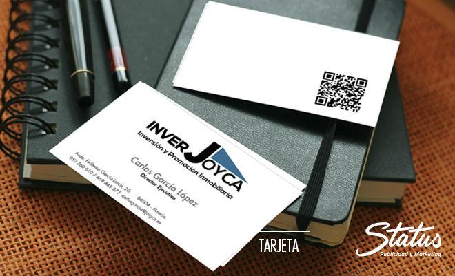Diseño gráfico tarjetas visita