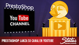 Canal PrestaShop en YouTube