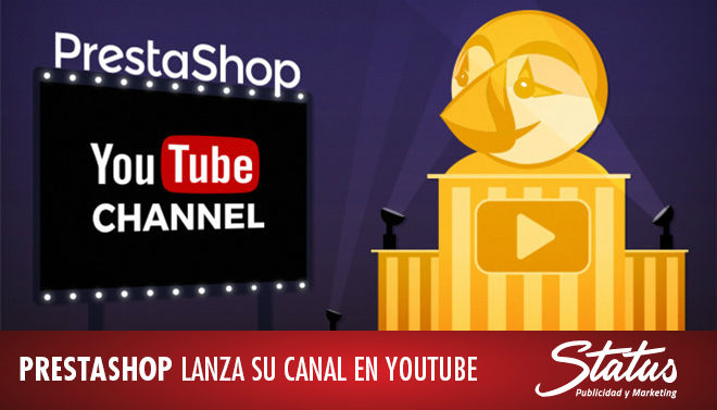 Canal PrestaShop en YouTube