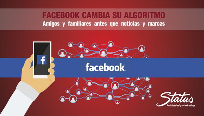 Cambios Facebook Algoritmo
