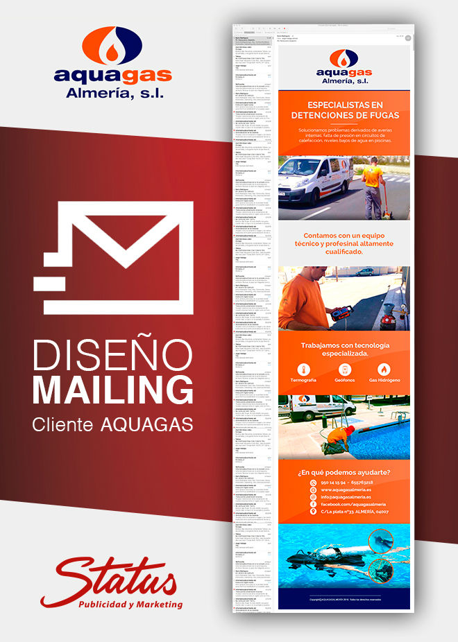 Diseño mailing