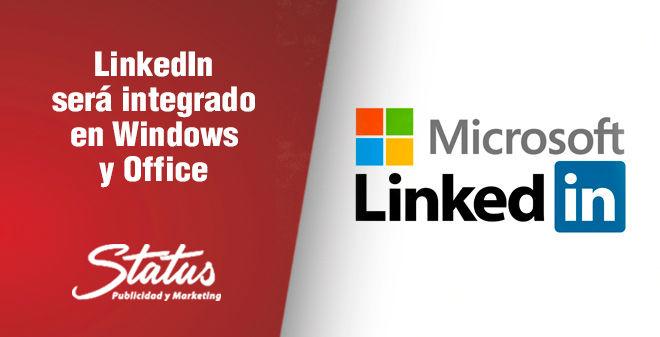 Linkedin se encontrará en Microsoft y Office