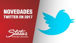 Novedades Twitter 2017