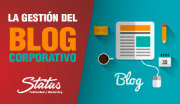 Gestión blog corporativo