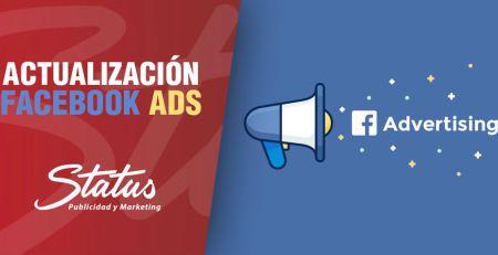 Actualización de Facebook ADS