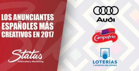 Los anunciantes españoles más creativos en 2017