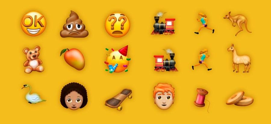 Nuevos emojis 2018