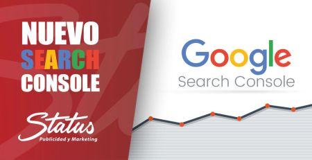 Nuevo Search Console de Google