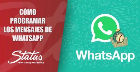 Cómo programar mensajes en WhatsApp