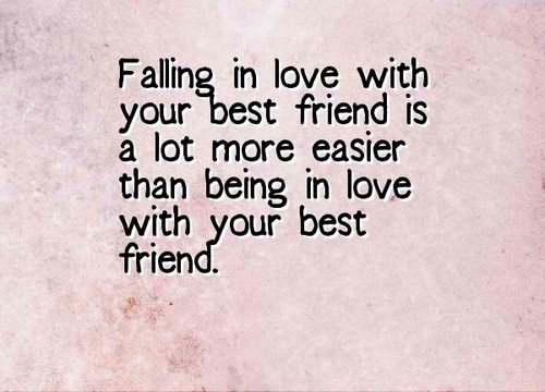 Falling Love Your Best Friend Poems