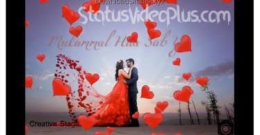 Tera Dil Banke Main Saath Tere Dhadakne – Love Whatsapp Status