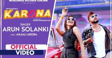 Karona Song Arun Solanki Download Whatsapp Status Video