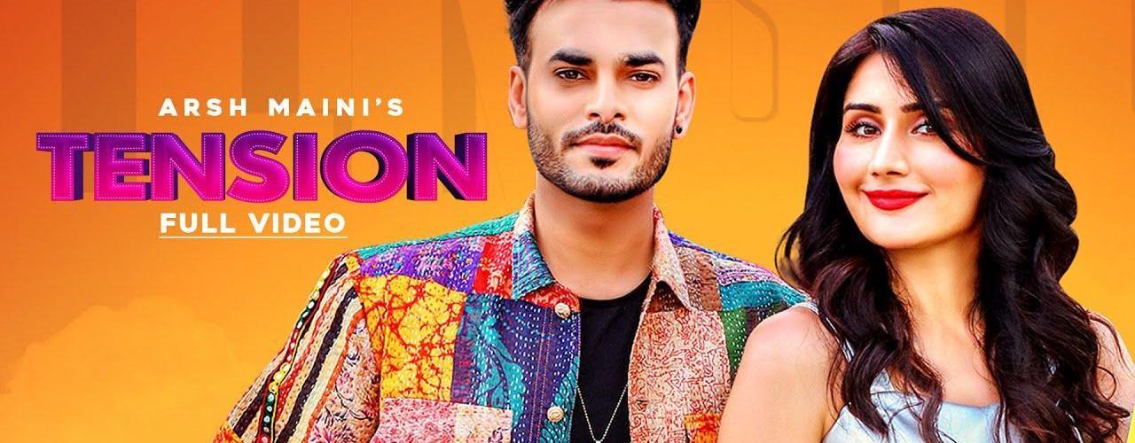 Tension Song Arsh Maini Ft. Afsana Khan Download Status Video