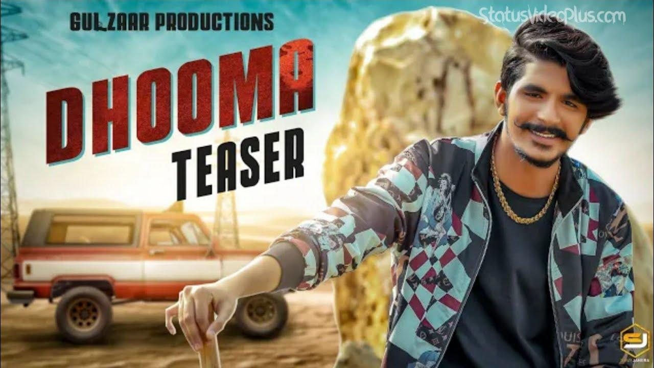 Dhooma Song Gulzaar Chhaniwala Status Video