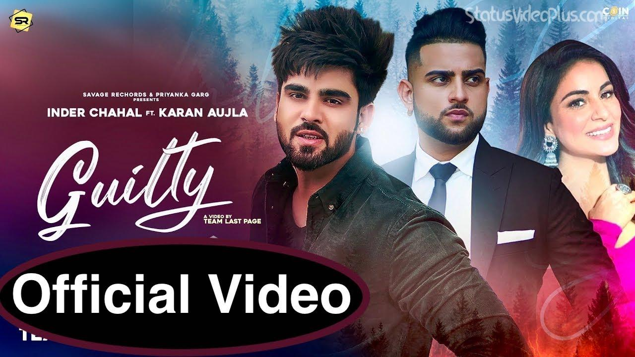 Guilty Song Inder Chahal Karan Aujla Download Status Video