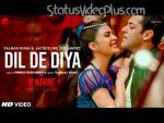 Dil De Diya Song Radhe Salman Khan Download Whatsapp Status Video