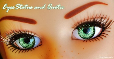 Eyes Status And Quotes