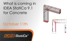 "Webinar ""What is coming in IDEA StatiCa 9.1 for Concrete"""