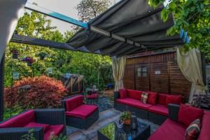 neues Pavillon-Dach