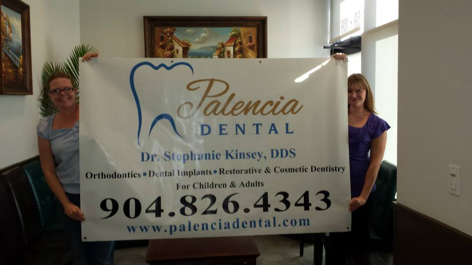 Custom vinyl banners from Quick Signs in St Augustine, FL