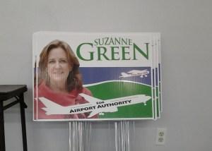 yard signs political