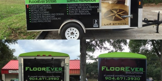 floorever trailer wrap