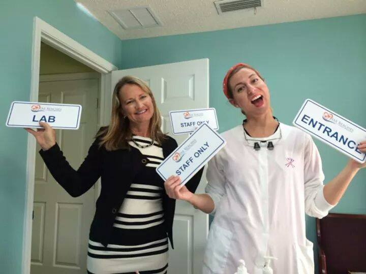 jax beaches dentistry office signage