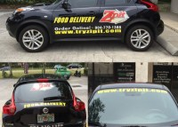 Custom vehicle graphics from Quick Signs in St Augustine, FL