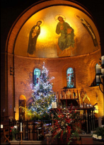 The Apse at Christmas