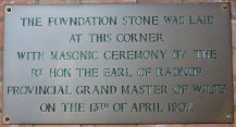 Foundation Plaque