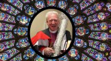 Bishop Roger Carrying Candle