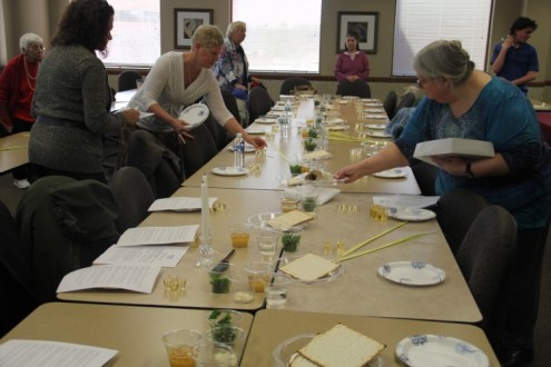 Palm Sunday Seder Meal 2015