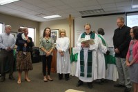 Blessing of the Leadership Team 2014