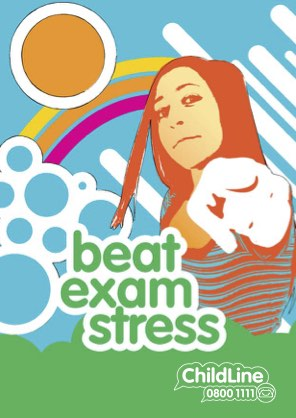 Front page from beat exam stress booklet